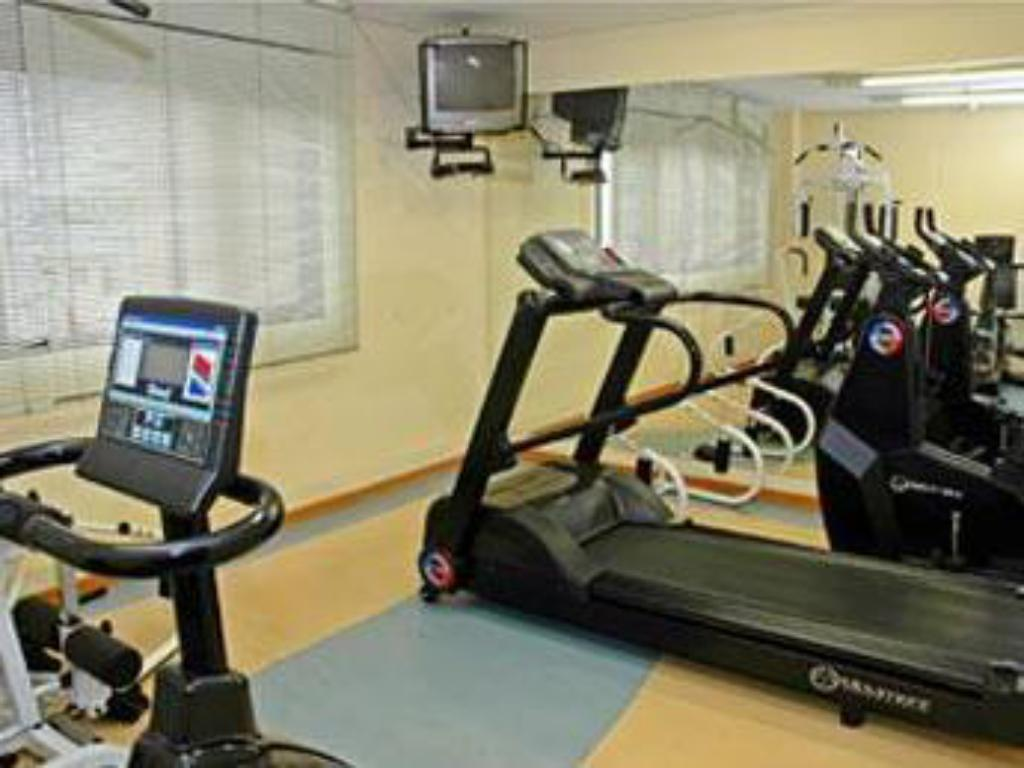 Fitness center Travel Inn Live & Lodge Ibirapuera Flat Hotel