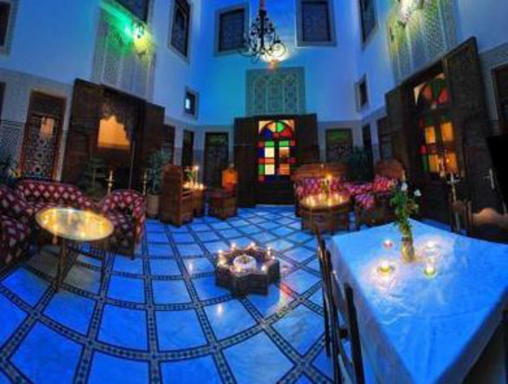 Interior view Riad Dar Chrifa