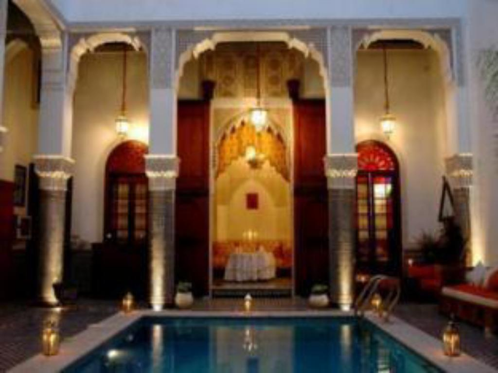 Swimming pool Riad El Amine Fes