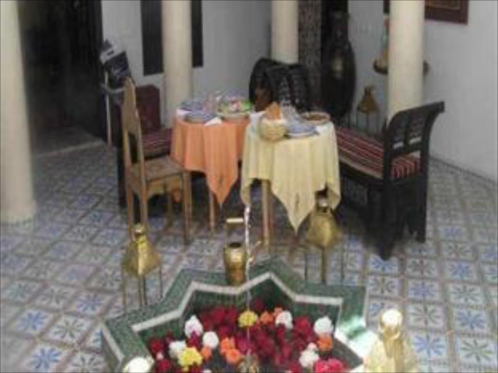 Interior view Riad Adriana
