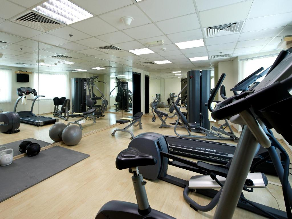 Fitness center TIME Crystal Hotel Apartment