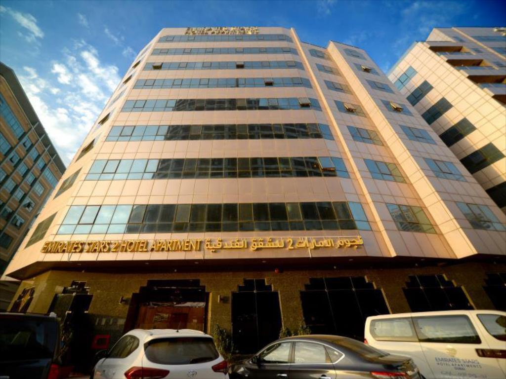 Экстерьер Emirates Stars Hotel Apartments Sharjah