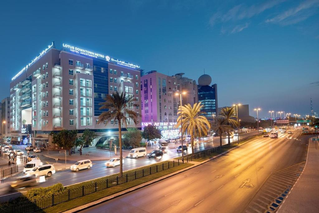 Book Lotus Downtown Metro Hotel Apartments in Dubai