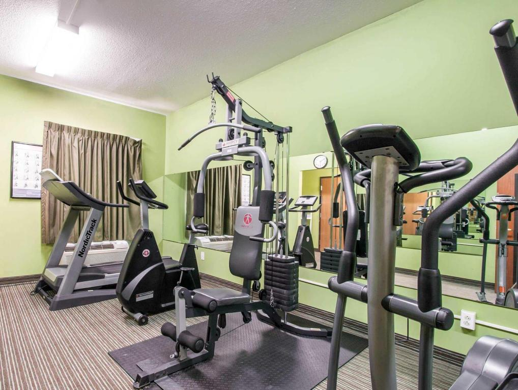 fitness centrum Quality Inn