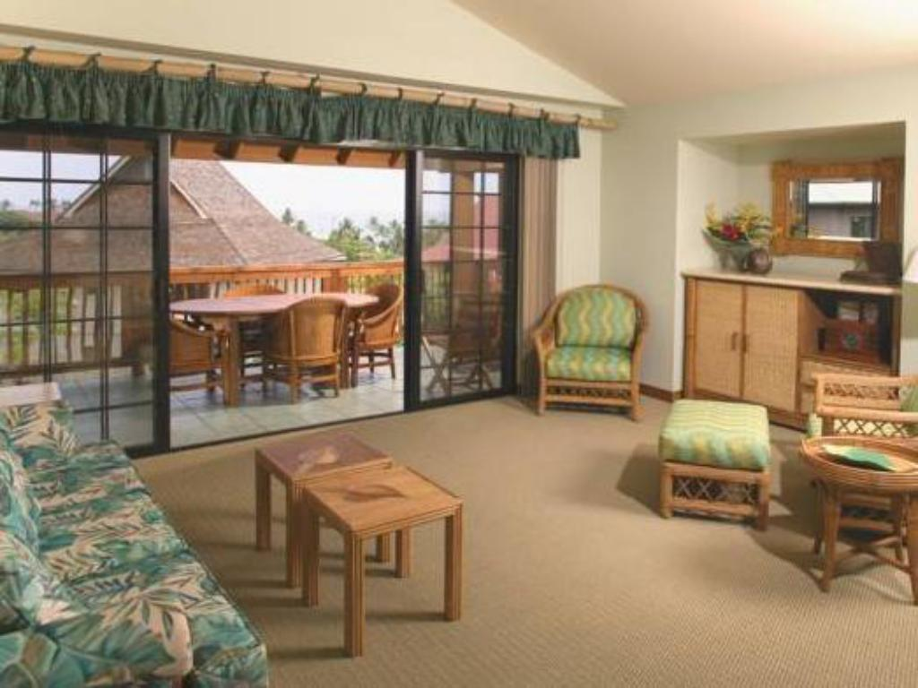 Interior view Wyndham Kona Hawaiian Resort