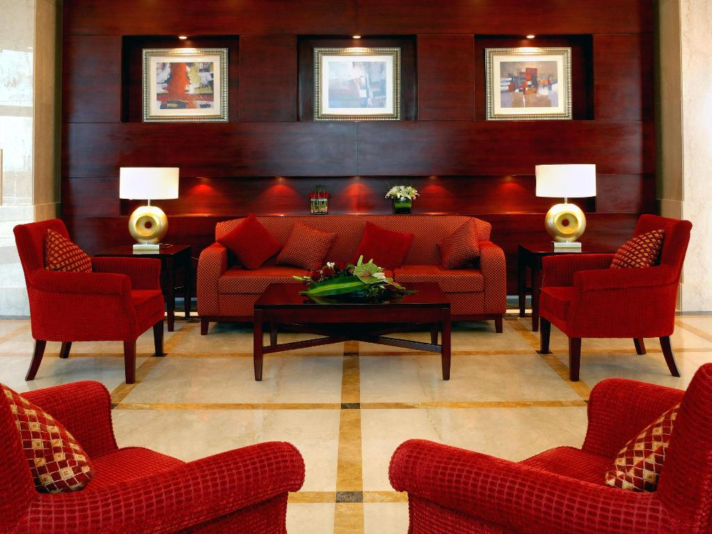 Lobby Marriott Executive Apartments Manama