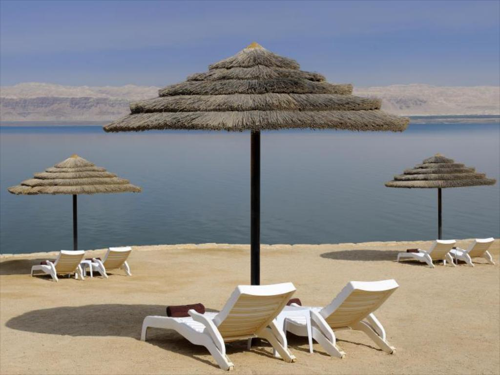 pludmale Dead Sea Marriott Resort & Spa