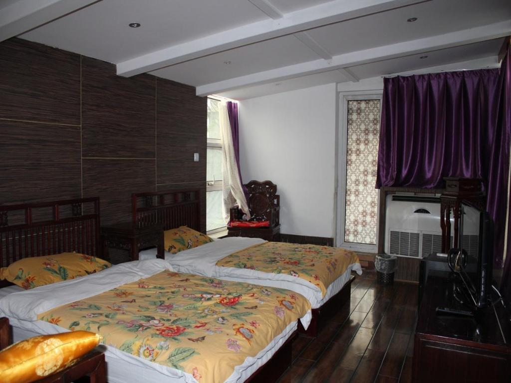 Standard Double or Twin Room Tiananmen Best Year Courtyard Hotel