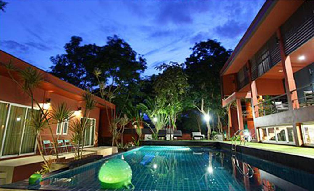 Hotellet indefra Foresta Resort