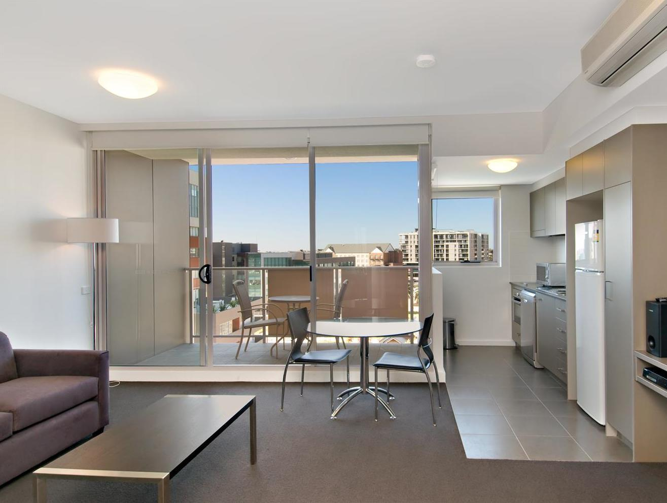 Interior View Chifley Apartments, Newcastle