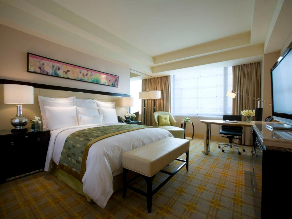 Deluxe Garden View Room, Guest room, 1 King or 2 Double - Habitación JW Marriott Hotel Beijing