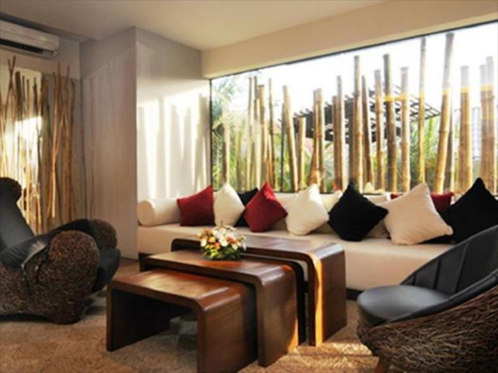 Interior view Bamboo House Phuket Hotel
