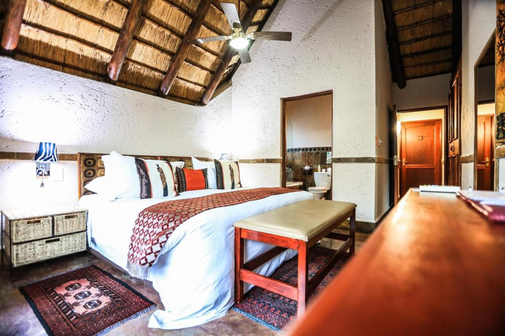 Standard Double Suite - Room plan Grand Kruger Lodge and SPA