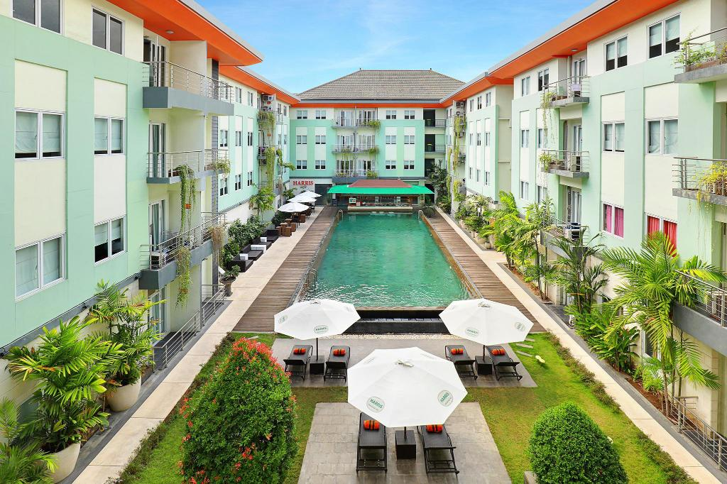 HARRIS Hotel & Residences Riverview Kuta in Bali - Room Deals ...