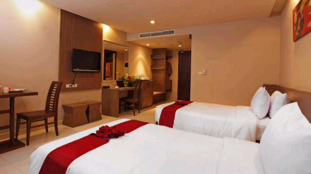 Superior Room - Bed Pattaya Loft managed by Loft Group