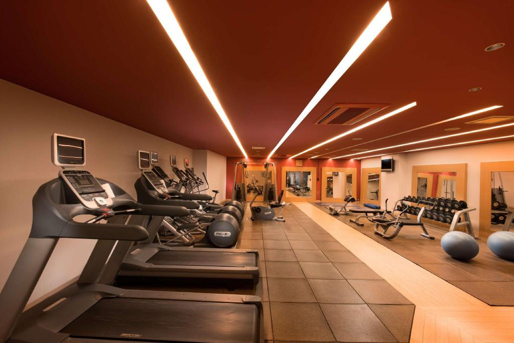 Fitness center Hilton Niseko Village
