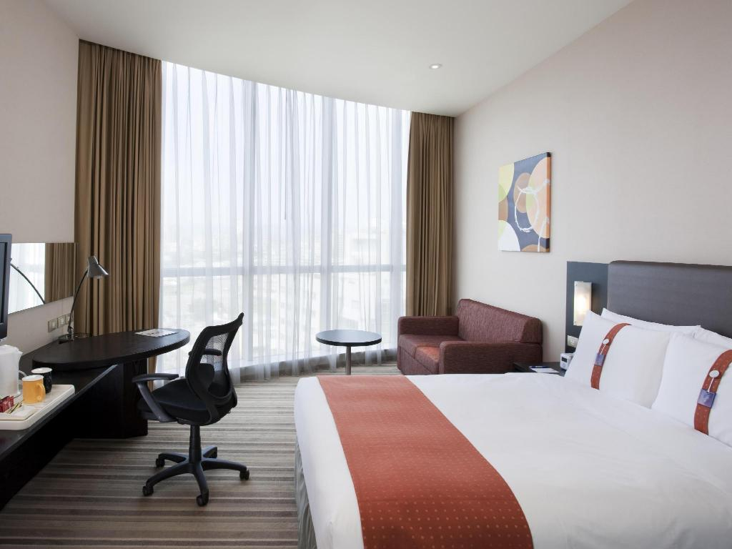 1 Cama Queen - No Fumadores - Cama Holiday Inn Express Taichung Park