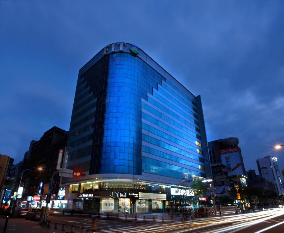 Exterior view Just Sleep Hotel Ximending