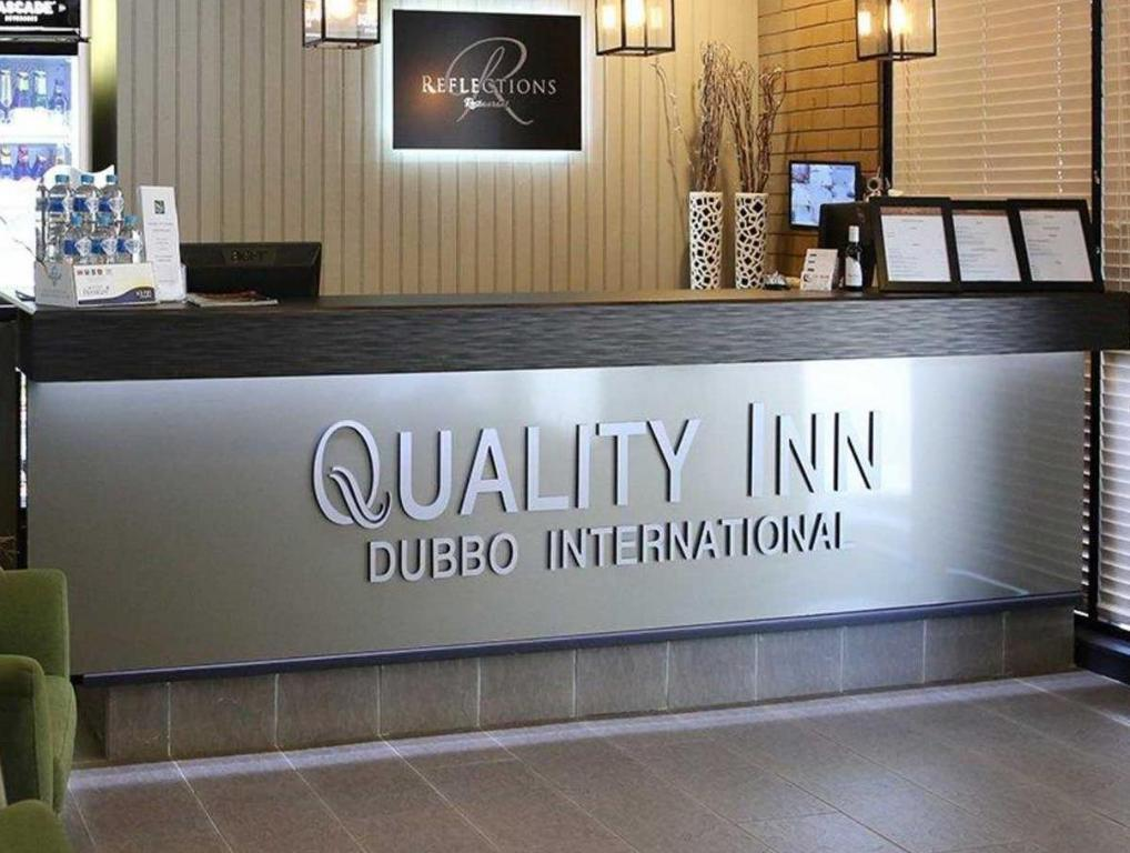 Lobby Quality Inn Dubbo International