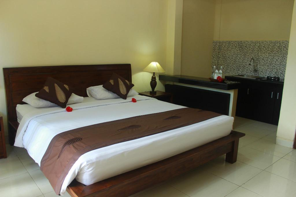 Superior Room - Bed Sumantra House Ubud