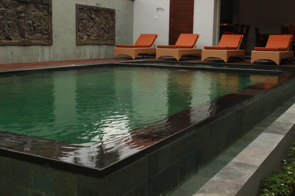 Swimming pool Sumantra House Ubud