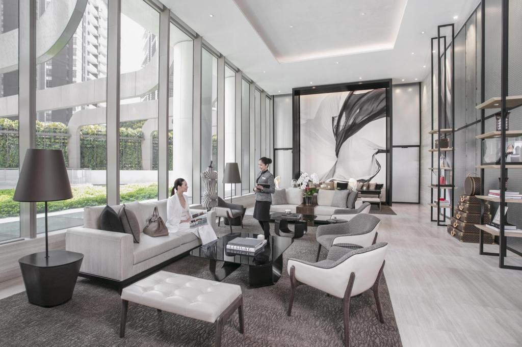 Lobby Ascott Orchard Singapore (SG Clean Certified)
