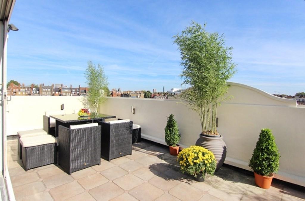 Balcony/terrace London Lifestyle Apartments - Penthouse - Knightsbridge