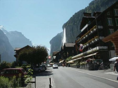 Exterior view Hotel Oberland
