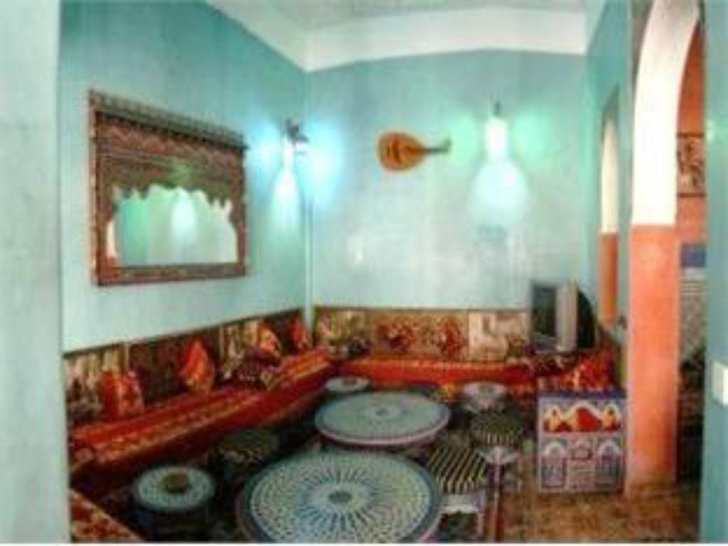 Interior view Moroccan House