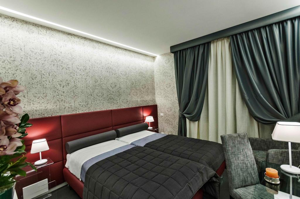 Double or Twin Room with Balcony - Bed Residenza Monfy
