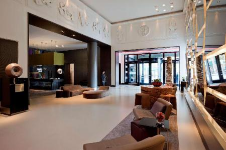 Lobby Andaz London Liverpool Street - a concept by Hyatt