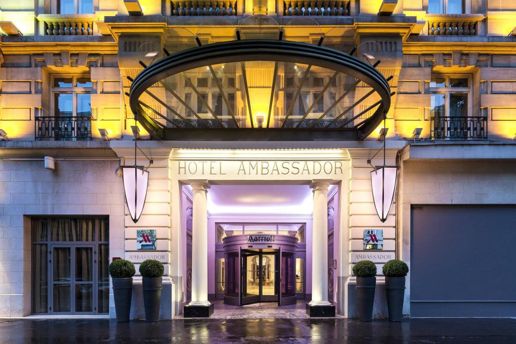 Best Price on Paris Marriott Opera Ambassador Hotel in Paris + Reviews!