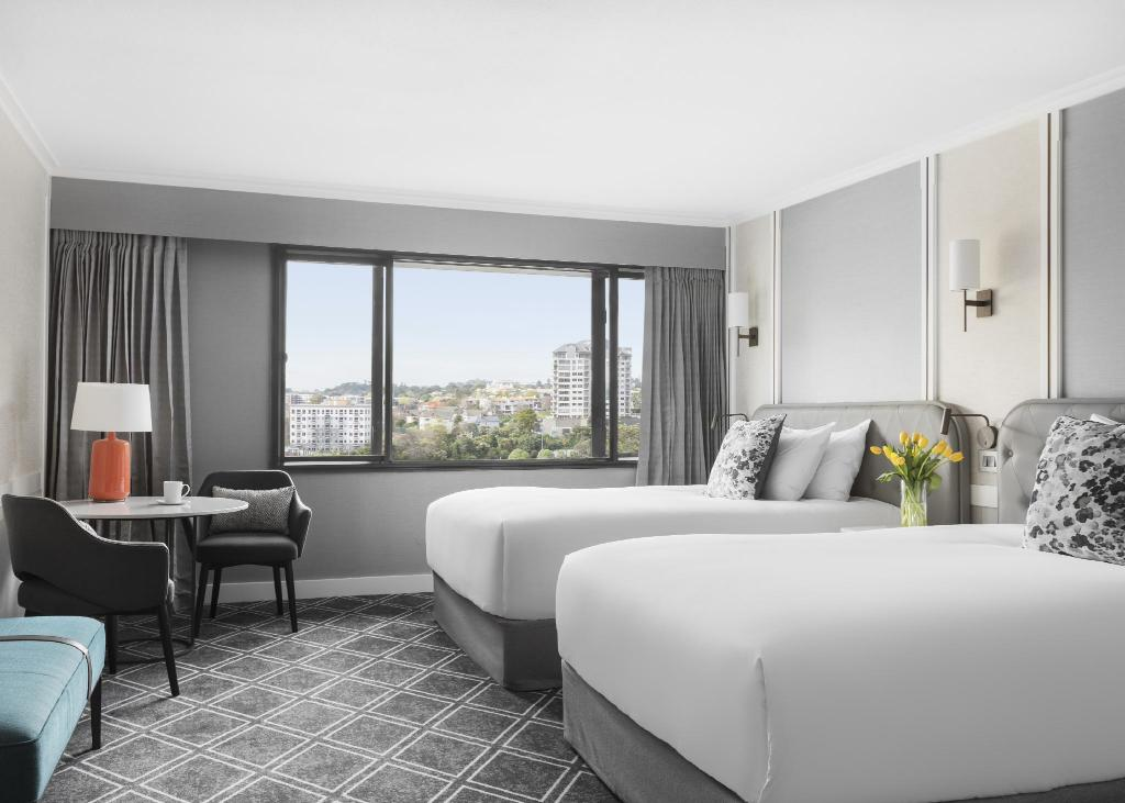 Deluxe Double Double - Bed Cordis, Auckland – a new brand by Langham Hospitality Group