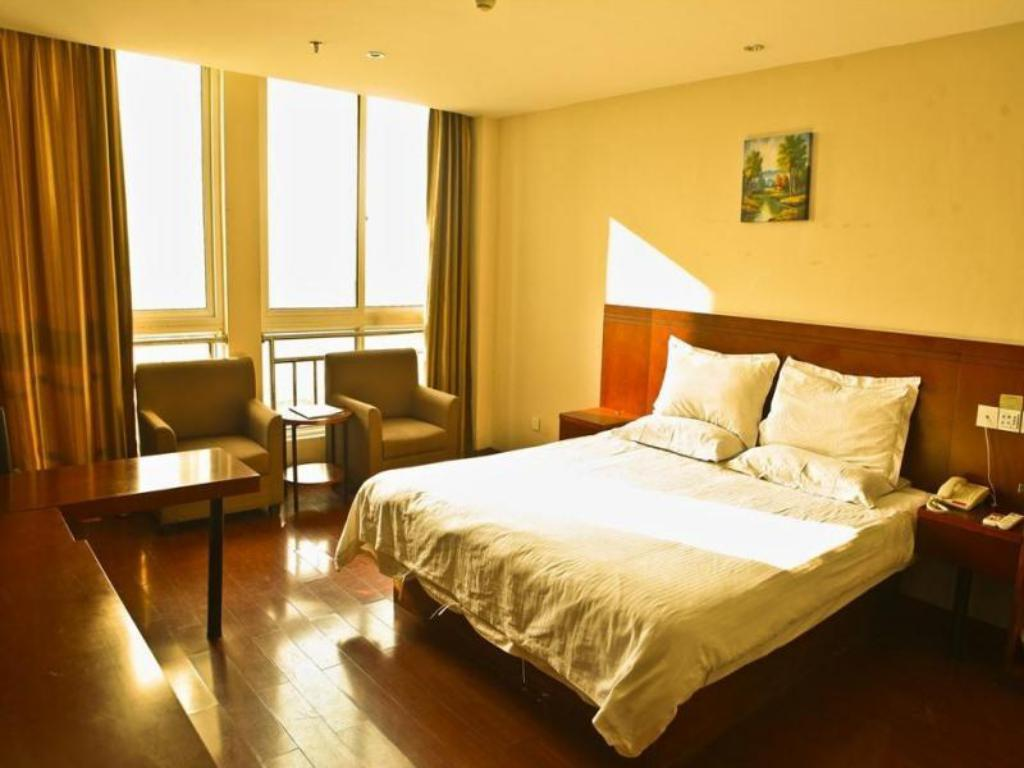 King - Lit GreenTree Inn Jiangsu Taizhou Xinghua WuLi Road Wuli Bridge Express Hotel