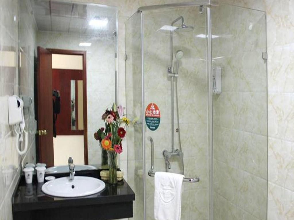 Business Standard Room - Bathroom GreenTree Inn Suqian Siyang Renmin Road Zhongxing Express hotel