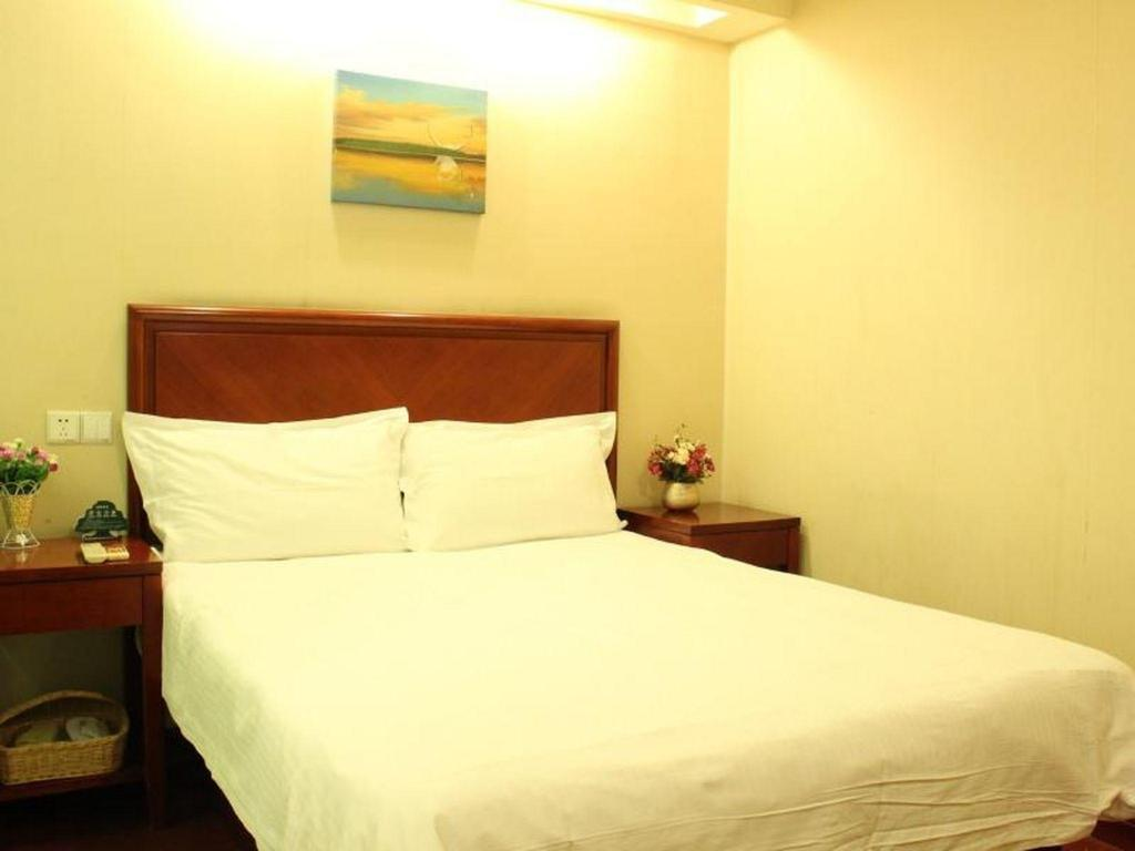 Room with Queen Bed - Bed GreenTree Inn Nanjing Jiangning Tianyin Avenue Subway Station Express Hotel