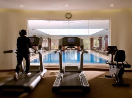 Fitness center The Lalit Grand Palace Srinagar Hotel
