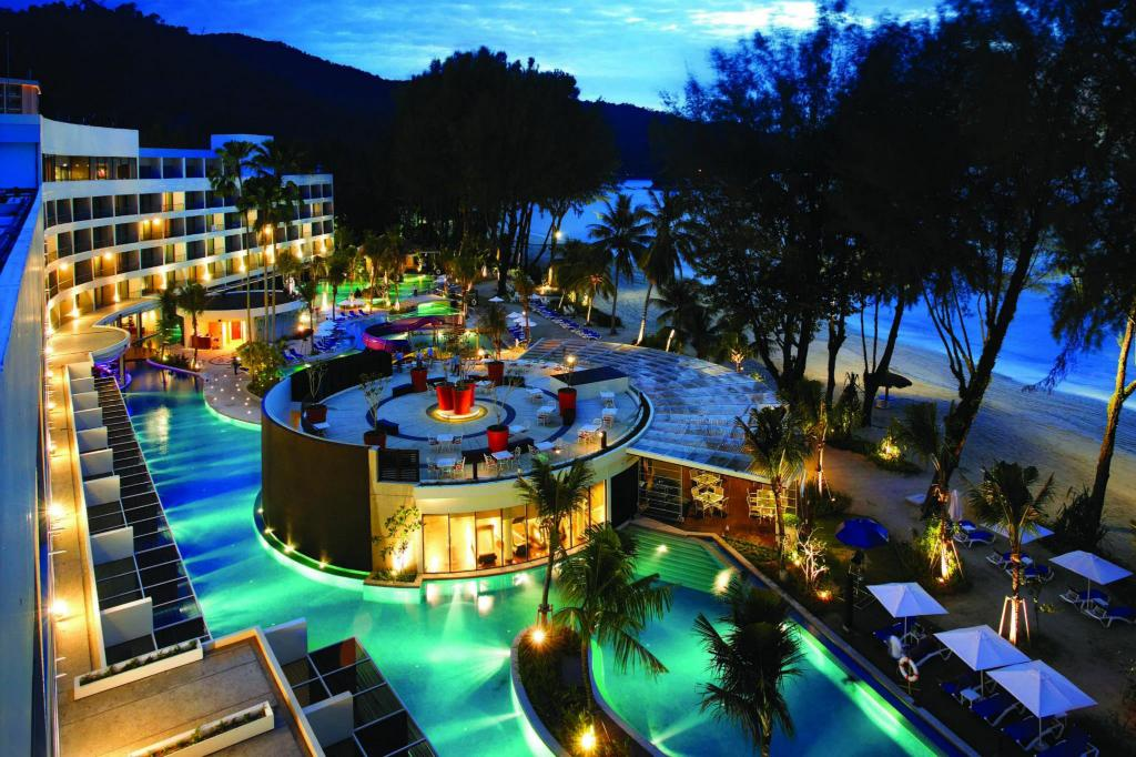 Swimming pool [outdoor] Hard Rock Hotel Penang