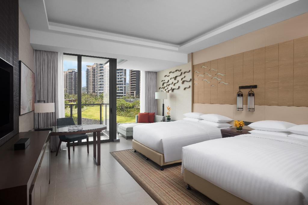 Deluxe Garden, Guest room, 1 King or 2 Double, North Tower - נוף Xiangshui Bay Marriott Resort & Spa