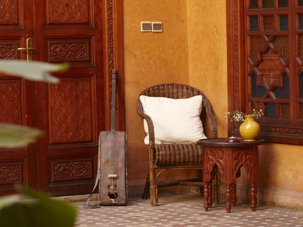 Interior view Riad Jardin Secret