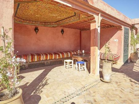 Balcony/terrace Riad Jardin Secret