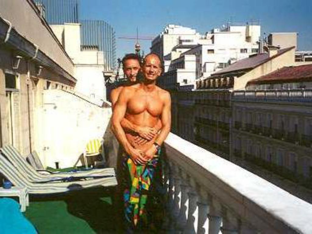 Balcony/terrace Gay Hostal Puerta del Sol Madrid