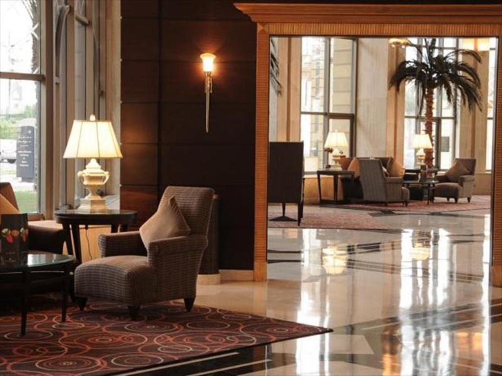Lobby InterContinental Jeddah