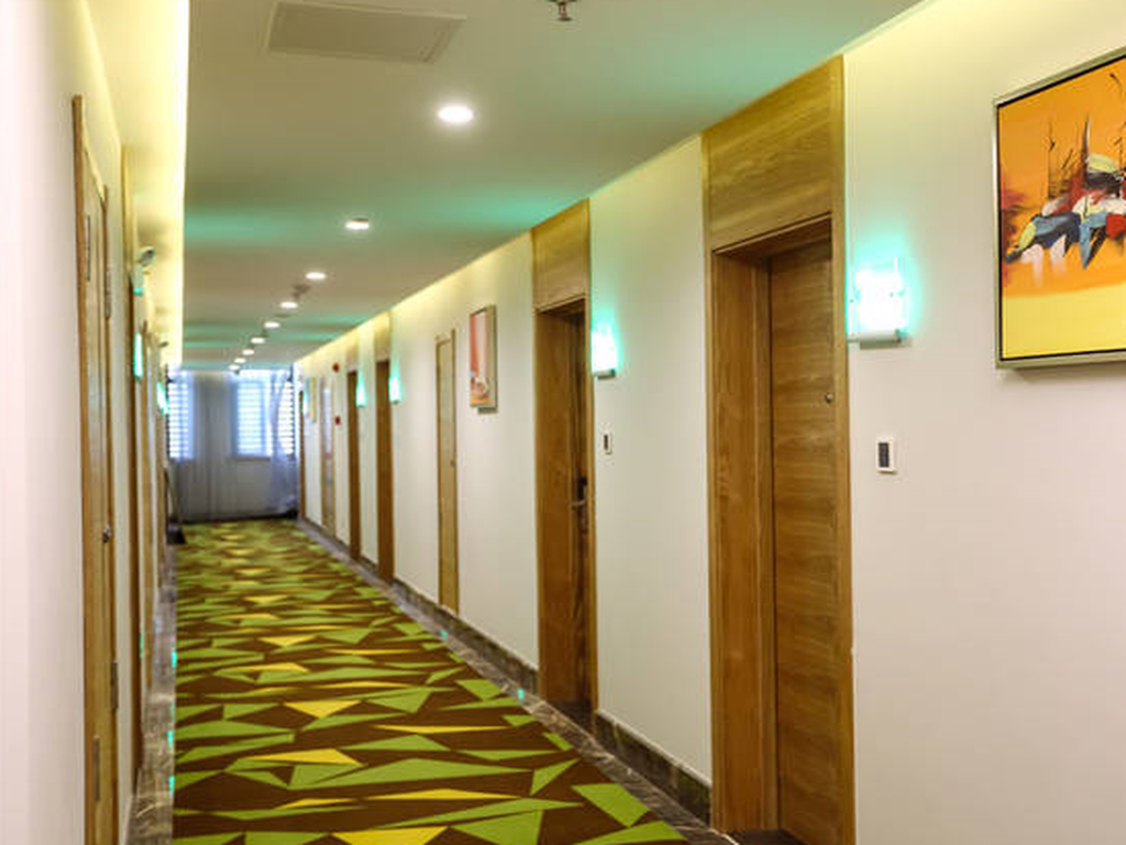 Interior view Vatica Hefei Economic Development Zone Hefei University of Technology North Gate Hotel