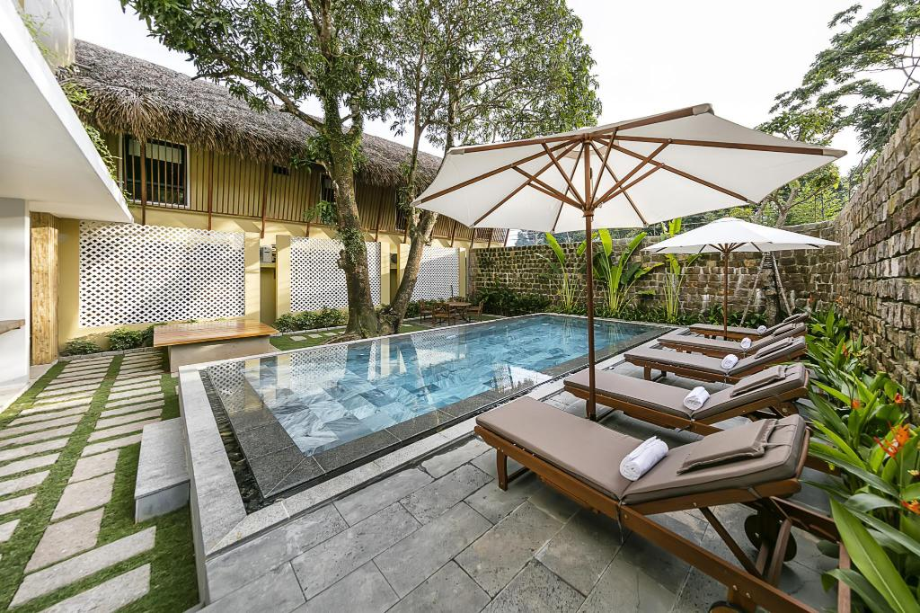 Swimming pool [outdoor] 9 Station Hostel Phu Quoc