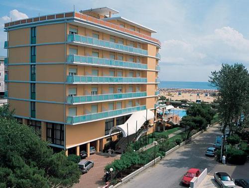 Bibione lido dei pini map and hotels in bibione lido dei pini area
