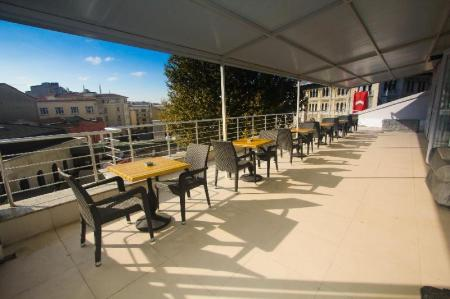 Balcony/terrace Venue Hotel Old City Istanbul