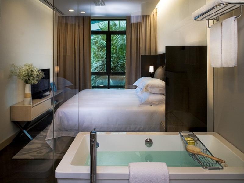 Fraser suites singapore room deals photos reviews - 2 bedroom hotel suites singapore ...