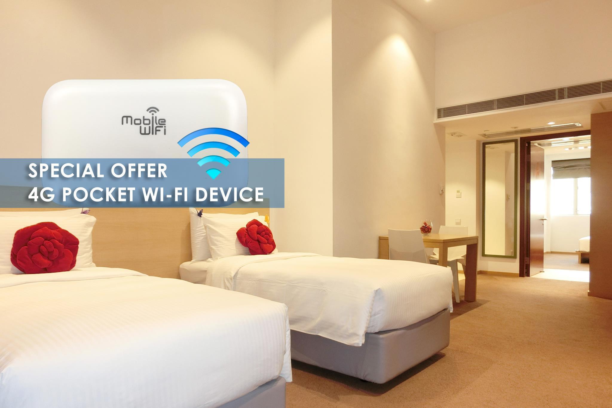 豪華家庭房 - 附4G行動Wi-Fi (Deluxe Family Room with 4G Pocket Wi-Fi Device)