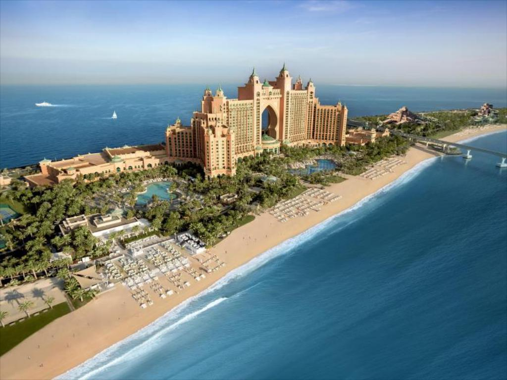 Best price on atlantis the palm dubai in dubai reviews for Hotel dubai palm